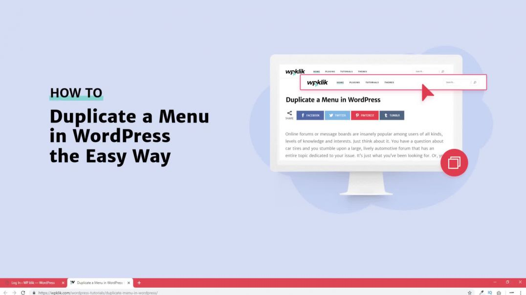 How to Duplicate a Menu in WordPress [2019]