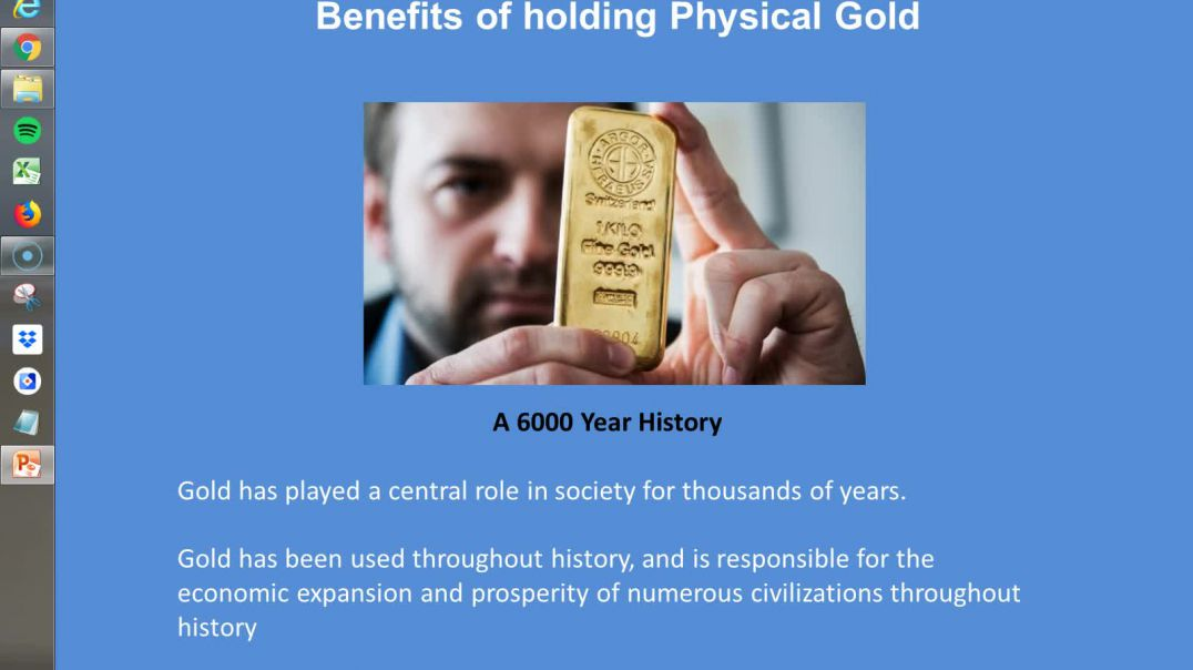 Benefits of Physical Gold