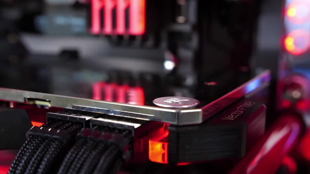 $4900 Satisfying Custom Water Cooled Gaming PC Build - Time Lapse