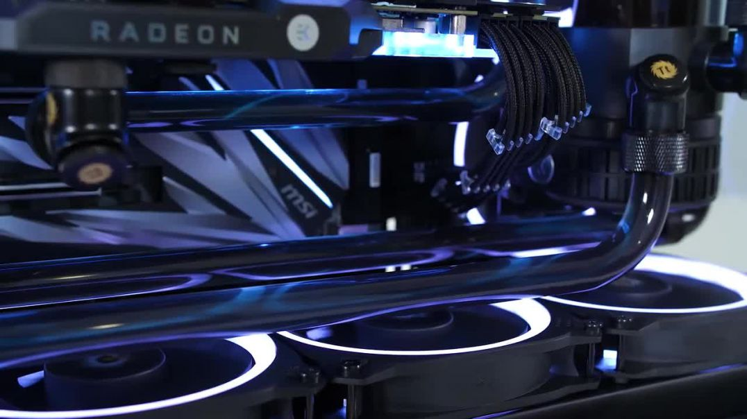 $3000 Ultimate NO RGB Custom Water Cooled Gaming PC Build - Antec P120 Time Lapse